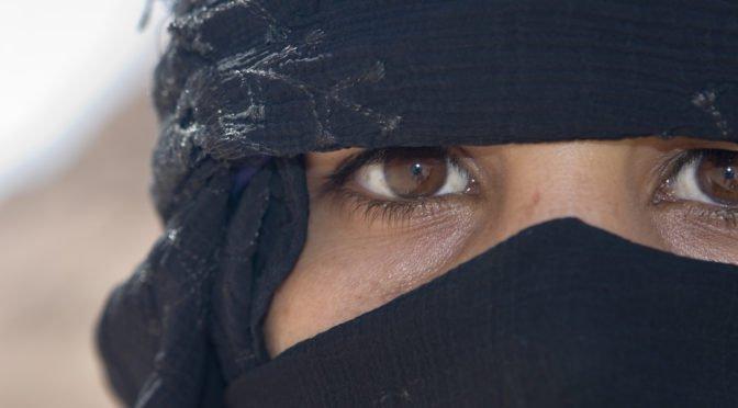 """<span class=""""dquo"""">""""</span>Salafisten-Protest"""" in bayerischem Dorf: Wirbel um """"Burkafrau"""" von Ilmmünster"""