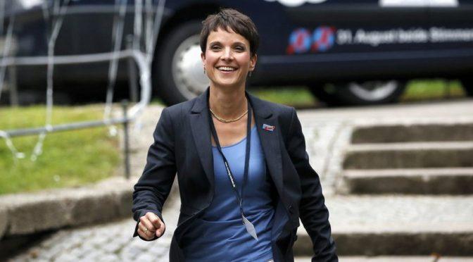 AfD im Hofbräukeller: Frauke Petry von München begeistert | Politik