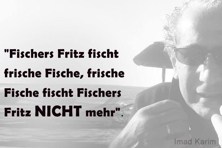 Fischers Fritze Fischt